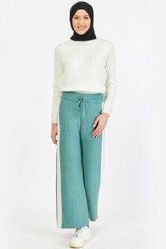 Pantalon İLMEK TRİKO Vert Eau(109327007)