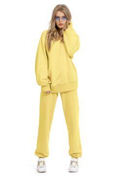 Спортивный костюм PIRS 1270 желтый(117355571)
