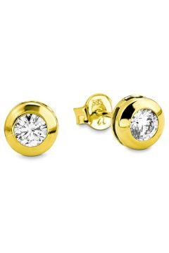 Amor Küpe 14 Ayar Altın Zirkonlu - 9979301(113999679)