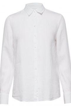 Kirsten Linen Shirt Langärmliges Hemd Weiß MORRIS LADY(116919966)