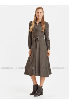 Anthracite - Dresses - LC WAIKIKI(110319760)