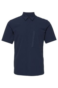 M Extended Ss Shirt Kurzärmliges Hemd Blau PEAK PERFORMANCE(116779011)