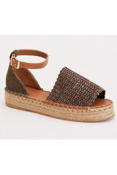 DeFacto Kadın Hasır Görünümlü Sandalet(119065744)