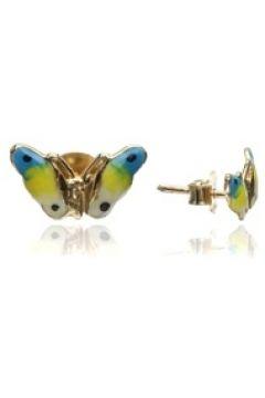 Collection Kadın Kelebek Formlu Altın Rengi Broş EU(121521065)