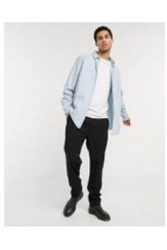 Weekday - Louie - Camicia di jeans blu vintage(120275530)