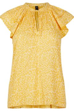 Y.A.S Yasjanice Top À Manches Courtes Women yellow(114628686)
