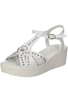 Sandales Fascino Donna FASCINO sandales blanc cuir clous AE43(115399365)