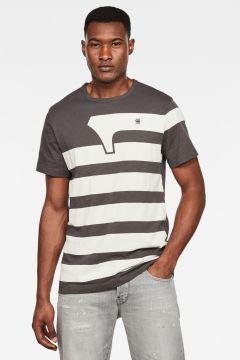 G-Star RAW Men One Stripes GR T-Shirt Grey(117927431)