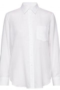 Daphne Shirt Langärmliges Hemd Weiß FILIPPA K(116269127)