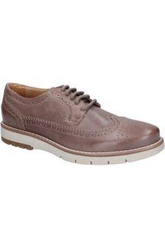 Chaussures Keys élégantes beige cuir textile BT916(115442966)