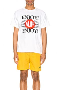 Футболка с рисунком enjoy - ALIFE(115068510)