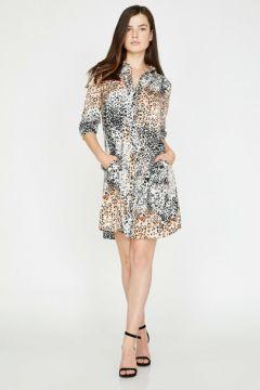 Koton Kadın Leopar Desenli Elbise(113434369)