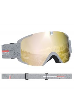 Salomon X View Schneebrille - White Bronze(100259591)