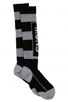 Fashion Socks Mons Royale Lift Access - Black White Stripe Citrus(115690361)