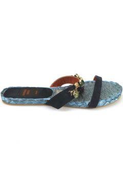 Sandales Raffaele Greco sandales bleu daim AM878(115443149)