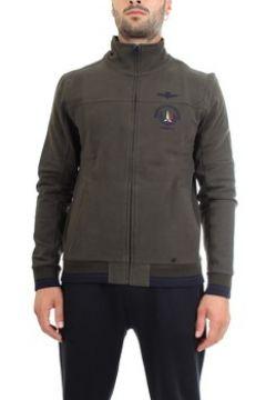 Sweat-shirt Aeronautica Militare 192FE1305F313 Sweat homme Vert(128001637)