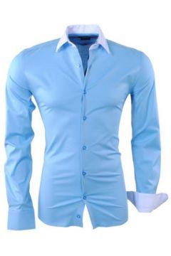 Chemise Kc 1981 Chemise fashion pour homme Chemise 1123 bleu clair(88545772)