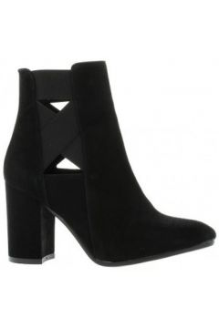 Bottines Nuova Riviera Boots cuir velours(115611733)