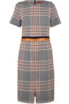Hugo Koni Dress - Orange Chk 962(111095115)