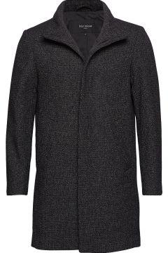 Harvey Structured Wool Wollmantel Mantel Schwarz MATINIQUE(114151490)