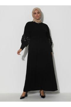 Abaya Grande Taille Arıkan Noir(125451784)