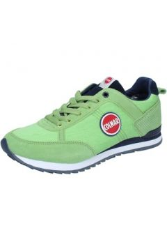 Chaussures Colmar sneakers vert daim textile BZ899(115399071)