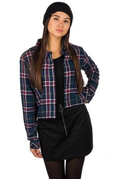 Vans Box Car Flannel Longsleeve Shirt blauw(100661557)