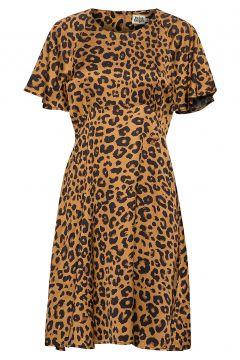 Elmira Dress Kurzes Kleid Braun TWIST & TANGO(114164274)