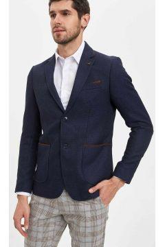 DeFacto Erkek Keten Görünümlü Blazer Ceket(108642360)