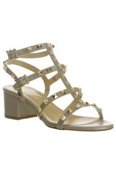 Poletto Kadın Bronz Sandalet Ayakkabı(122545070)