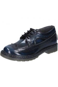 Chaussures enfant Beverly Hills Polo Club POLO élégantes bleu cuir brillant BX865(115442680)
