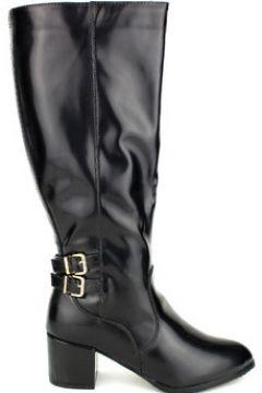 Bottes Cendriyon Bottes Noir Chaussures Femme(115425472)