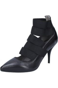 Chaussures escarpins Le Marrine escarpins noir cuir BY733(115401485)