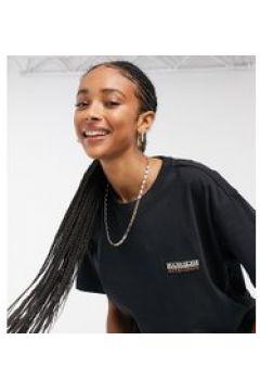 Napapijri - Sase - T-shirt nera-Bianco(120382705)