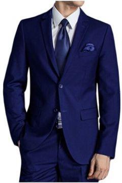 Vestes de costume Kebello Veste 2 boutons coupe droite H Bleu(127855137)