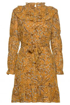 Dress Kurzes Kleid Gelb SOFIE SCHNOOR(120942848)
