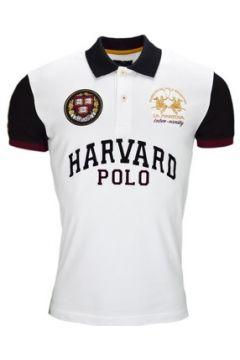 Polo La Martina Polo Harvard blanc et noir pour homme(115390740)