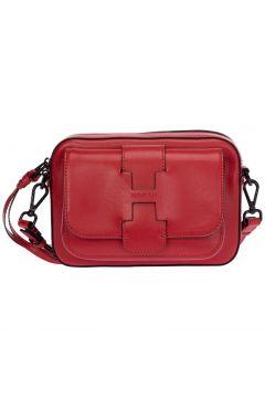 Women's leather cross-body messenger shoulder bag(117038833)