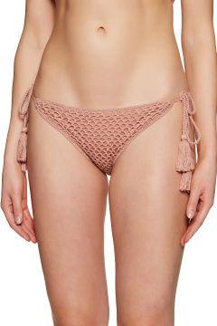 Bas de maillot de bain Minkpink Adrift Crochet String - Baked Pink(111333332)