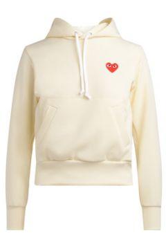Sweat-shirt Comme Des Garcons Sweat couleur ivoire avec capuche(98539998)