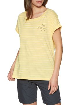 Animal Drift Circles Damen Kurzarm-T-Shirt - Pineapple Yellow(110360945)