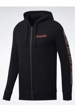 Reebok CrossFit® Full-Zip Kapüşonlu Üst(108989045)