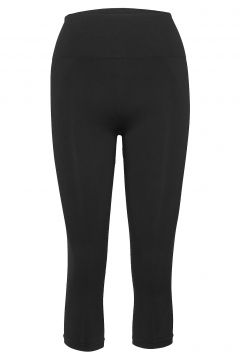 Cropped Seamless Legging Running/training Tights Schwarz FILIPPA K SOFT SPORT(114154534)