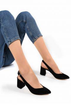 Sapin Kadın Topuklu Ayakkabı(110953222)