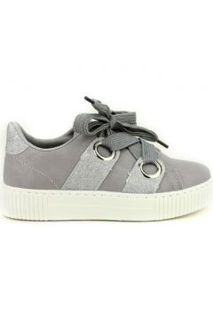 Chaussures Cendriyon Baskets Gris Chaussures Femme(115425657)