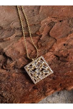 Gold - Necklace - By Geda(110328779)