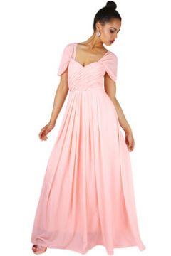 Robe Krisp Croix Plis Maxi robe de bal(101570132)