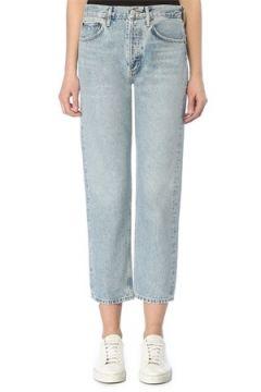 Agolde Kadın Parker Easy Straight Fit Jean Pantolon Mavi 23 US(109198966)