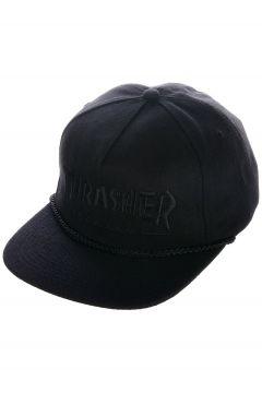 Thrasher Rope Snapback Cap zwart(109249390)