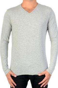 T-shirt Japan Rags Tee Shirt Cleve Gris Melange(115555788)